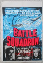 Battle Squadron, English Double Crown Poster, Van Johnson, Frederick Stafford 69